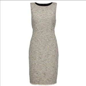 Theory Betty Comprised Tweed Dress Size 2